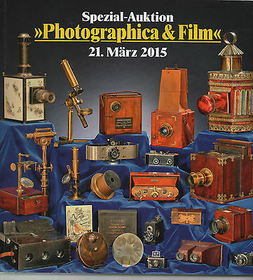 Classic Cameras,history Of Photography,auction Catalogue , 2015