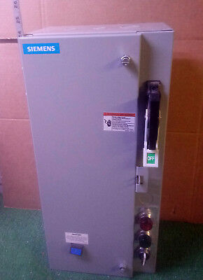 1 New Siemens 17Csa92Bf10 Fusible Combination Starter