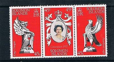 Solomon Is 1978 Anniv of Coronation SG 357/9 MNH