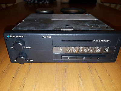 "Vintage Blaupunkt AR1121 Car Radio and 4"" Speakers. Excellent Working Order."