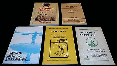 5 Interesting Vintage Books For The Trout Fisherman Or Collector
