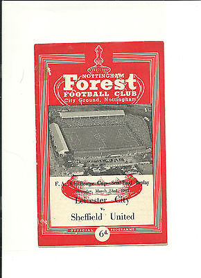 1960/61 FA Cup  Semi Final Replay  LEICESTER CITY  V  SHEFFIELD UNITED
