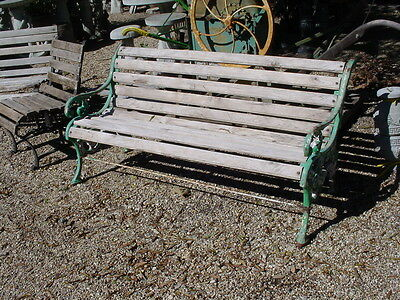 Victorian Garden 5' Bench Heavily made and Old!
