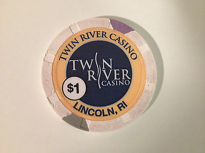$1.00 Twin River Casino Chip Lincoln RI