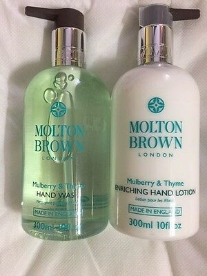 Molton Brown Mulberry and Thyme Hand Wash and Lotion 300ml NEW