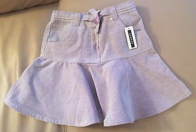 Lilac Cord Style Girl's Skirt (George) BNWT - age 2-3 years