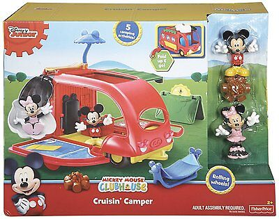 Disney Mickey Mouse Clubhouse RV Cruisin Camper Fisher-Price NEW *Kids Toy Gift*