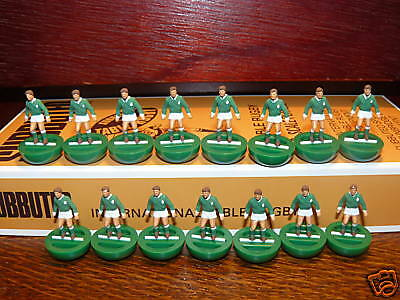 Ireland Retro Subbuteo Rugby Team