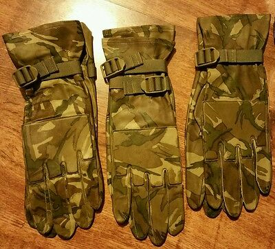 New British Army MTP Leather Gloves size 10