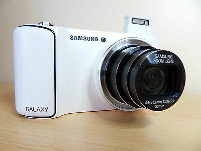 Samsung Galaxy Camera Ek-Gc100 16.3Mp Wifi  3G  White  Excellent Condition L@@k