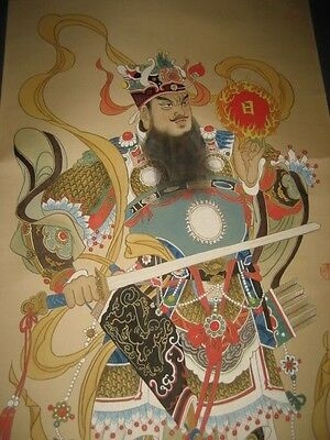 Chinese Wall Hanging Scroll - Hand Painted