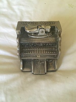 vintage  Very Very Rare  Piano Musical Lighter Japan wide Up Musical And Lighter