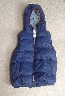 Boys Quilted Gilet With Hood Age 13yrs  - Ideal for winter months!