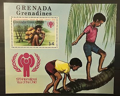 MINT pictorial stamp sheet - Grenada Grenadines 'Year of the Child' 1979