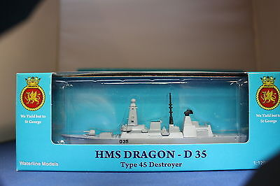 HMS DRAGON D 35 Type 45 Destroyer individually BOXED Triang Minic