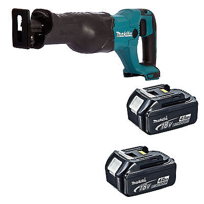 MAKITA 18V LXT DJR186 DJR186Z DJR186RFE RECIPROCATING SAW + 2 x BL1840 BATTERIES