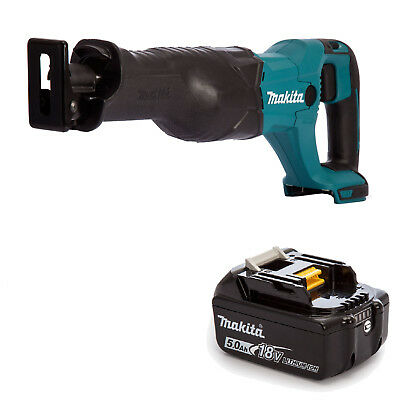 Makita 18V Lxt Djr186 Djr186Z Djr186Rfe Reciprocating Saw And Bl1850B Battery