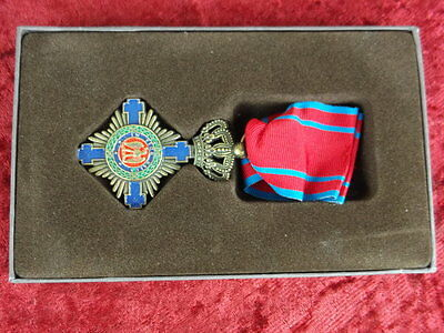 Order of The Star of Romania 1864 with case and ribbon