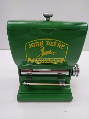 John Deere toothpick holder, like planter box (C-588)