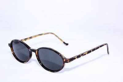 TRUE VINTAGE 60'S Style Oval Men's Women's SUNGLASSES Made in 90s Excellent Pair