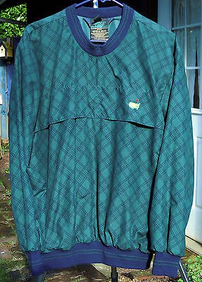 Ladies Med Sunderland Tartan Golf Pullover - with the official Masters logo - VG