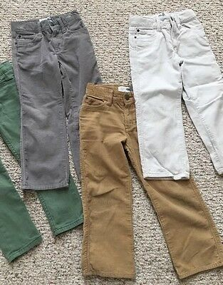 Lot of 3 Boys Or Girls Corduroy  Pants Old Navy Size 4/4T