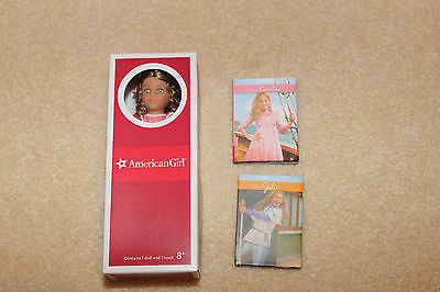 """American Girl Marie Grace 6"""" Mini Doll with Books"""