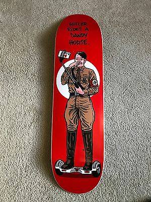 signed Sean Cliver Paisley Skates Someone Bad Rides A Dandy Horse Sold out!