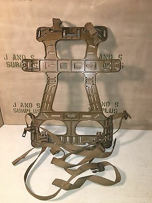FILBE Ruck/Pack Frame P/N#1606 AC Alice & Molle Compatible WITH STRAPS & BUCKLES