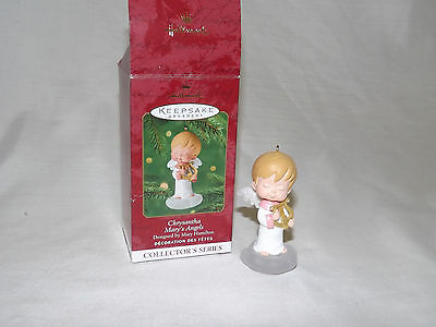 2001 Hallmark Ornament Mary's Angels Chrysantha 14th in Series