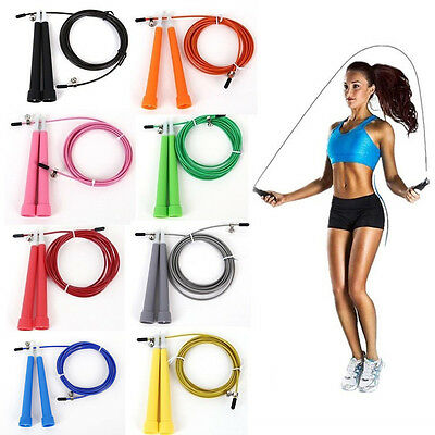 Aerobic Exercise Skipping Boxing Adjustable Jump Rope Bearing Speed Fitness New