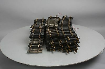 Aristo-Craft G Scale European Style Straight & Curved Track Sections (25)