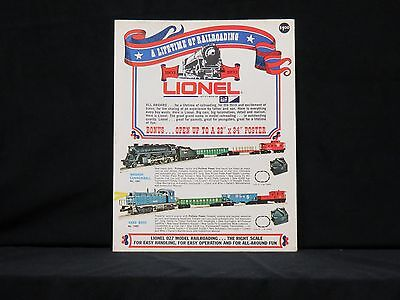 1970 Lionel Trains New Consumer Catalog Mint Rare Hard To Find