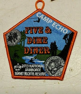 2013 Jamboree Five and Dime Diner patch
