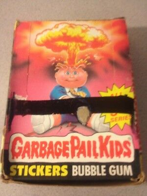 GARBAGE PAIL KIDS 5th Series Complete Box 48 Unopened Wax Sealed Packs W/poster