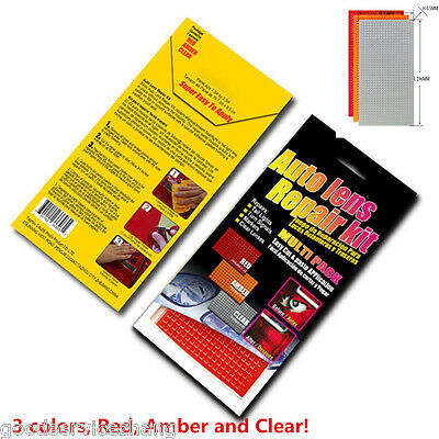 Tail Lights Turn Signals Lamp Quick Fix Cracked Broken Tool 3 Colors Multi-Pack