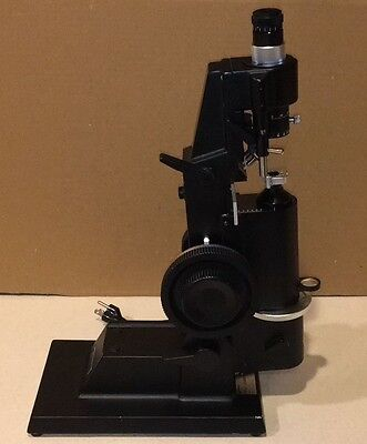 Marco Ophthalmic LM-101 Lensmeter w/ Prism Compensator Auxiliary Lensometer