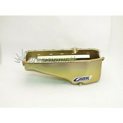 Canton Racing Products 11-200M SBC RHS D/STICK OIL PAN/SUMP STOCK APPEARING SUIT