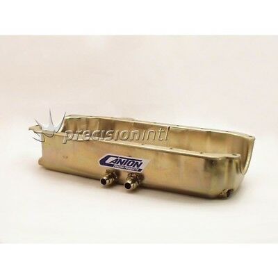 Canton Racing Products 12-101 DRY SUMP/OIL PAN CHEV SB SHALLOW RH EXITS