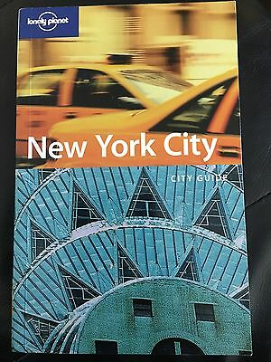 LONELY PLANET NEW YORK CITY GUIDE TRAVEL GUIDE BOOK EC 4th Edition