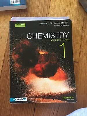 Chemistry 1 Vce Units 1 and 2 by N. Taylor