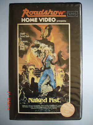 Naked Fist - Roadshow Home Video Vhs Tape (Original)