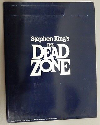 THE DEAD ZONE (1983) PRESS KIT With 2 Stills