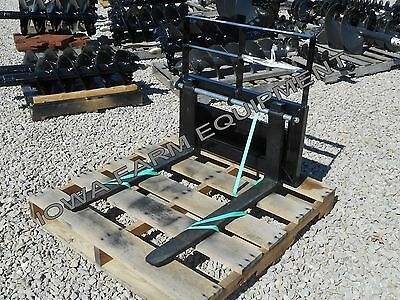 "Pallet Forks, Mini Skid Steer, Compact Tool Carriers:Bradco 32"" Forks,900lb Cap!"