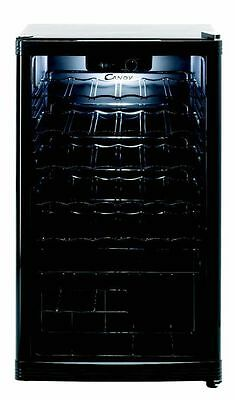 Hoover CCV150BL 117L Free Standing Under Counter Wine Cooler - Black -From Argos