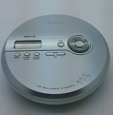 Sony CD Walkman D-NE240 CD player in EXCELLENT condition
