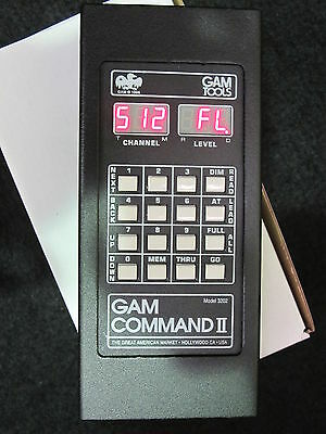 Gam Command Two  DMX lighting Control and tester - NEW