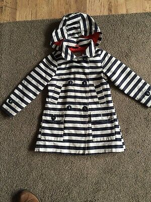 Next Girls Coat Aged 3-4 With Hood