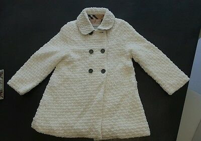 manteau burberry fille 4 ans neuf