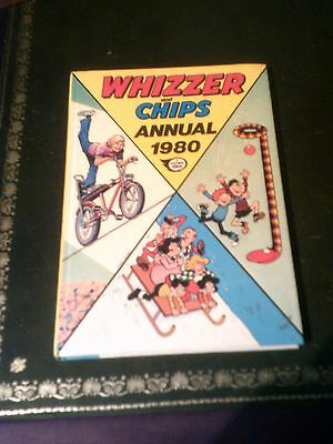 WHIZZER AND CHIPS  Annual 1980, UK Annual, Vintage Book Published in 1979